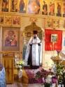 Внутри Молзинской церкви